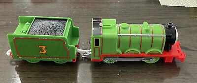 Henry & Tender Trackmaster Motorized Engine Thomas & Friends Mattel Working 2013