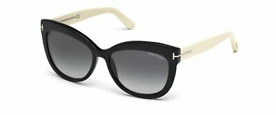 Authentic Tom Ford FT0524 Alistair 05B Black Sunglasses