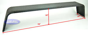 (2)- Steel 14 Gauge Diamond Tread Plate Tandem Axle Trailer Fenders 10