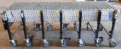 Best Flex Portable 6 To 24 Expandable Skate Wheel Roller Conveyor 5 Brakes