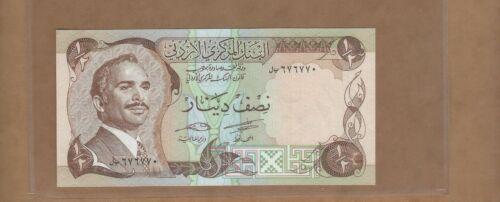 Jordan   1/2 Dinar  P17d   UNC