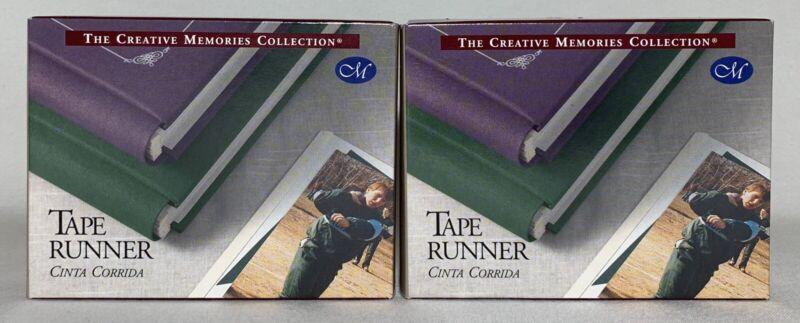 Lot of 2 x Creative Memories Tape Runners