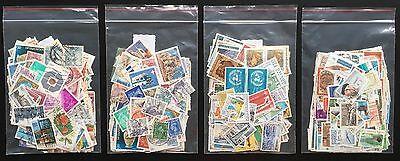 250 Briefmarken, Sondermarken, Serienmarken verschiedener Länder