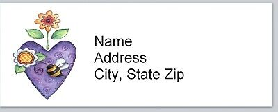 Personalized Address Labels Primitive Country Heart Buy 3 Get 1 Free Bx 499