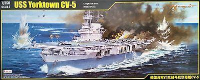 MERIT 65301 USS Yorktown CV-5 in 1:350