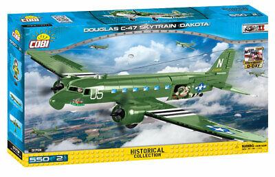 COBI Douglas C-47 Skytrain Dakota Airplane SET# 5701 (550 Pcs.) US SELLER, WWII for sale  Medford