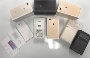 iPhone 8 AND 8 plus boxes  ORIGINAL , 64GB,128GB 256GB BOXES  JUST THE BOX  ( NO iPHONE )