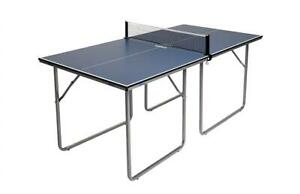 NEW JOOLA Midsize Compact Table Tennis Table Great for Small Spaces and Apartments Multi-Use Free Standing TableCompa...