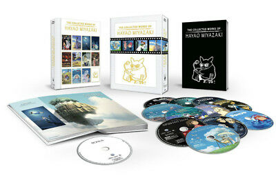 The Collected Works of Hayao Miyazaki Blu-ray Box Set Complete New Sealed