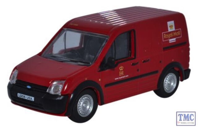 76FTC001 Oxford Diecast 1:76 Scale Ford Transit Connect Royal Mail
