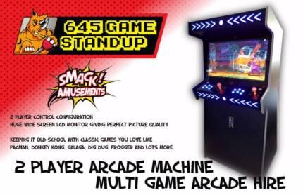 Smack Amusements - 2 Player Arcade Machine – Multi Game Hire