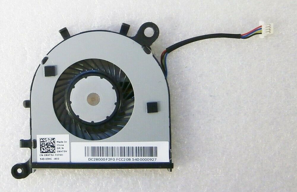 Lot of 3 5V 0.5A CPU Heatsink With Cooling Fan For Dell Inspiron 15 N5030 M0J50