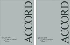 2008 2009 2010 2011 Honda Accord V6 Shop Service Repair