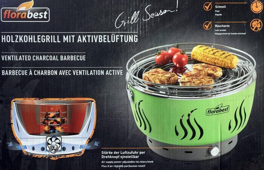 Florabest Holzkohlegrill Mit Aktivbelüftung Zubehör : Florabest grill test vergleich florabest grill günstig kaufen