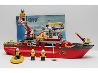 Details about Lego city 7207 Fire boat. All the pieces are there. Maybe a sticker or 2 missi