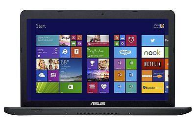 """New Asus X551CA 15.6"""" Laptop Intel 4GB 500GB Webcam Bundle Logitech Mouse Targus"""