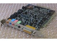 Creative Labs Sound Blaster Live! SB0060 - 5.1 6 Channel PCI Audio Sound Card