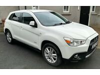 2012 Mitsubishi ASX 1.8d Top Spec with selectable 4WD