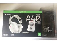 Xbox one Astro A40 gaming headset + Free Mod kit.