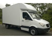 RELIABLE MAN & VAN FROM £25/hr.WE ALSO HAVE LUTON VAN WITH TAIL LIFT FOR REMOVAL SERVICES.