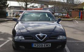 Alpha Romeo 166 2.5 V6 24V Lusso Sportronic 130712 Miles MINT CONDITION RARE ITALIAN CLASSIC