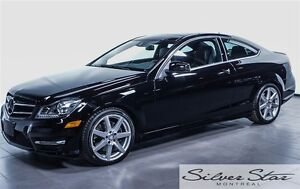 2014 Mercedes-Benz C350 4matic Coupe Avantgarde Edition Package
