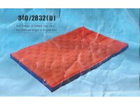 Airbed camping inflatable double box air mattress