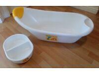 Baby bath set (bathtub + top & tail bowl)