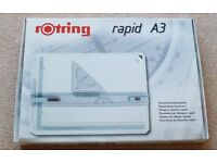 Rotring Rapid Drawing Board, A3 Size - White ((213910)