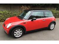 MINI COOPER AIR CONDITIONING GOOD SERVICE RECORDS SONY CD STEREO WITH BLUE TOOTH MINI COOPER ONE S