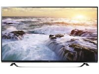 "LG 55UF850V 55"" 4K Ultra HD 3D compatibility Smart TV Wi-Fi Black LED TV"