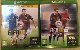 FIFA 15 and FIFA 16 for Xbox One