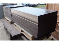 70 Pieces of NEW 18mm RIGGA Phenolic Resin Coated Weatherproof Plywood 60in x 26in (1525mm x 680mm)