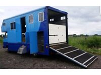 1993 VW Volkswagen LT50 Horsebox DIESEL Horse Box 5 TONNE living lorry van trailer horse box camper