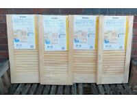 Unused Pine Cabinet Doors x 4