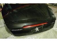 Peugeot rcz boot lid (black) 2012