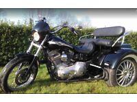 Harley-Davidson, DYNA SUPER GLIDE, 2003, 1450 (cc) Converted to a Trike 2017