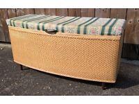 Original 'Institute' blanket box / ottoman