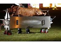 Hog roast hire, selfie mirror, photo booth, wedding car hire, donut van, chocolate fountain hire