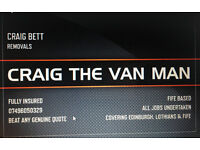 CRAIG THE VAN MAN REMOVAL SERVICES