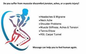 Sports Massage * City Centre*