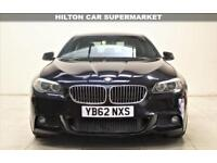 BMW 5 SERIES 2.0 520D M SPORT 4d AUTO 181 BHP + TOP SPEC WITH ALL THE EXTRAS (black) 2013