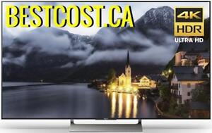 Télévision LED TV 75'' POUCE XBR75X900E 4K ULTRA UHD 120Hz HDR SMART ANDROID WI-FI SONY - BESTCOST.CA