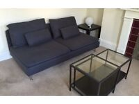 3 seat sofa and coffee table