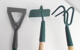 Setof 3 Garden Tools