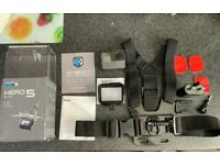 GoPro Hero 5 black like new with accessories fully boxed.