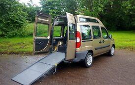 06 Fiat Doblo Active M-Jet Diesel --- Wheelchair Access Vehicle --- Low Mileage