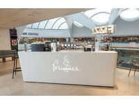 Frizzenti FIZZ Bar staff required Bluewater Shopping Centre