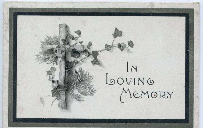 1912-Memorial-Funeral Announcement-Kathleen Agnes-KENT Family-England ?