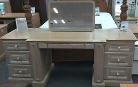 Limed Oak Dressing Table